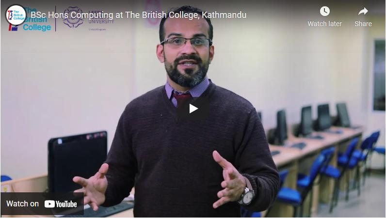 Bsc Hons Computing at The British College, Kathmandu