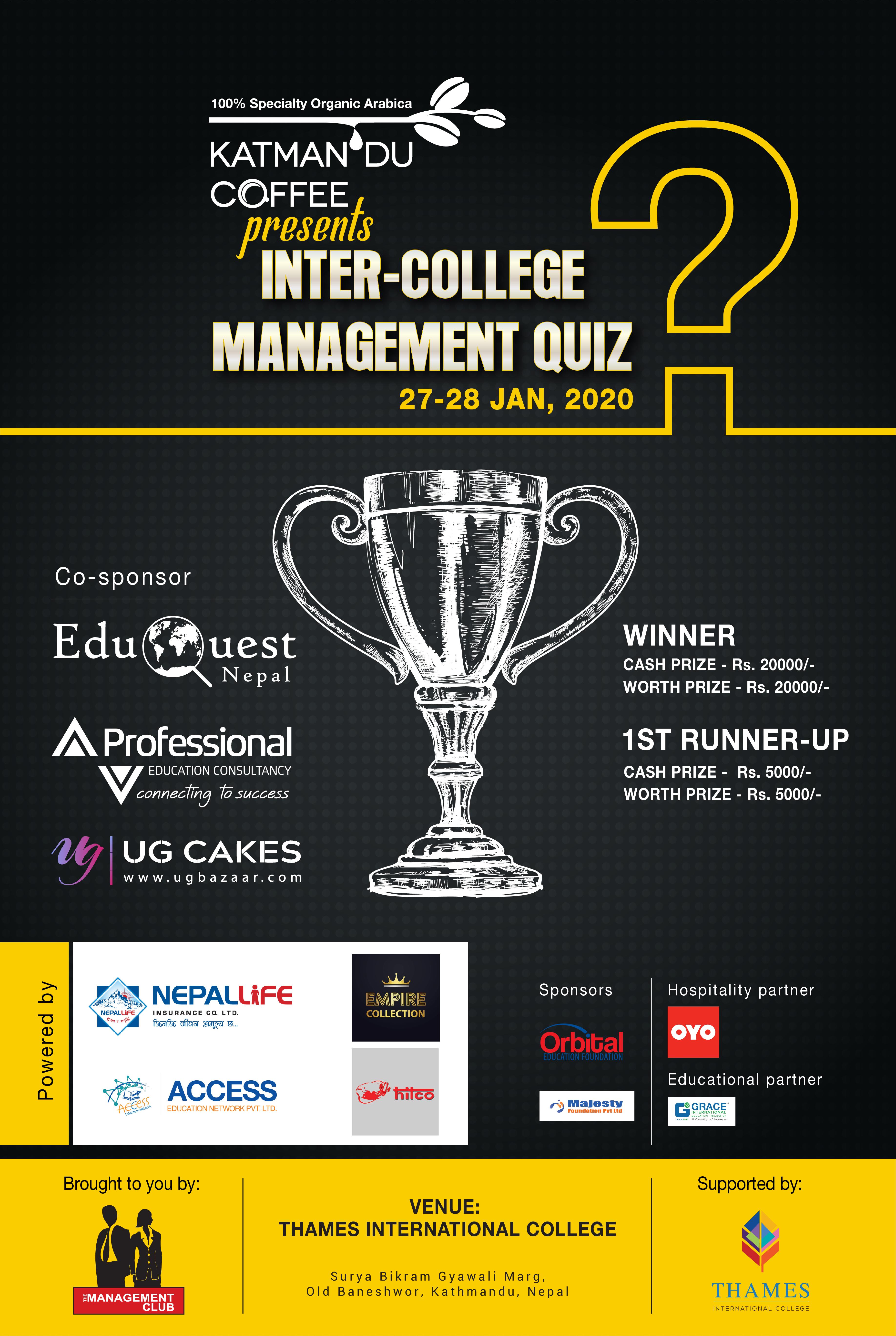 Inter-College Management Quiz