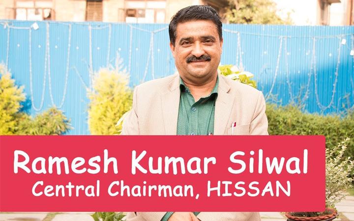 Ramesh Kumar Silwal - President HISSAN, Central Chairman