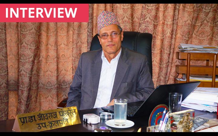 Prof. Dr. Jiba Raj Pokharel, VC NAST