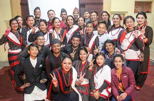 Newari event 'Milijuli Bhoye'